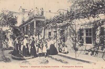 TURKEY  SMYRNE IZMIR AMERICAN COLLEGIATE INSTITUTE -SENT TO GREECE