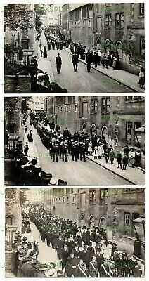 OLD POSTCARDS PARADE CHURCH STREET BRADFORD ON AVON WILTSHIRE REAL PHOTOS C.1910